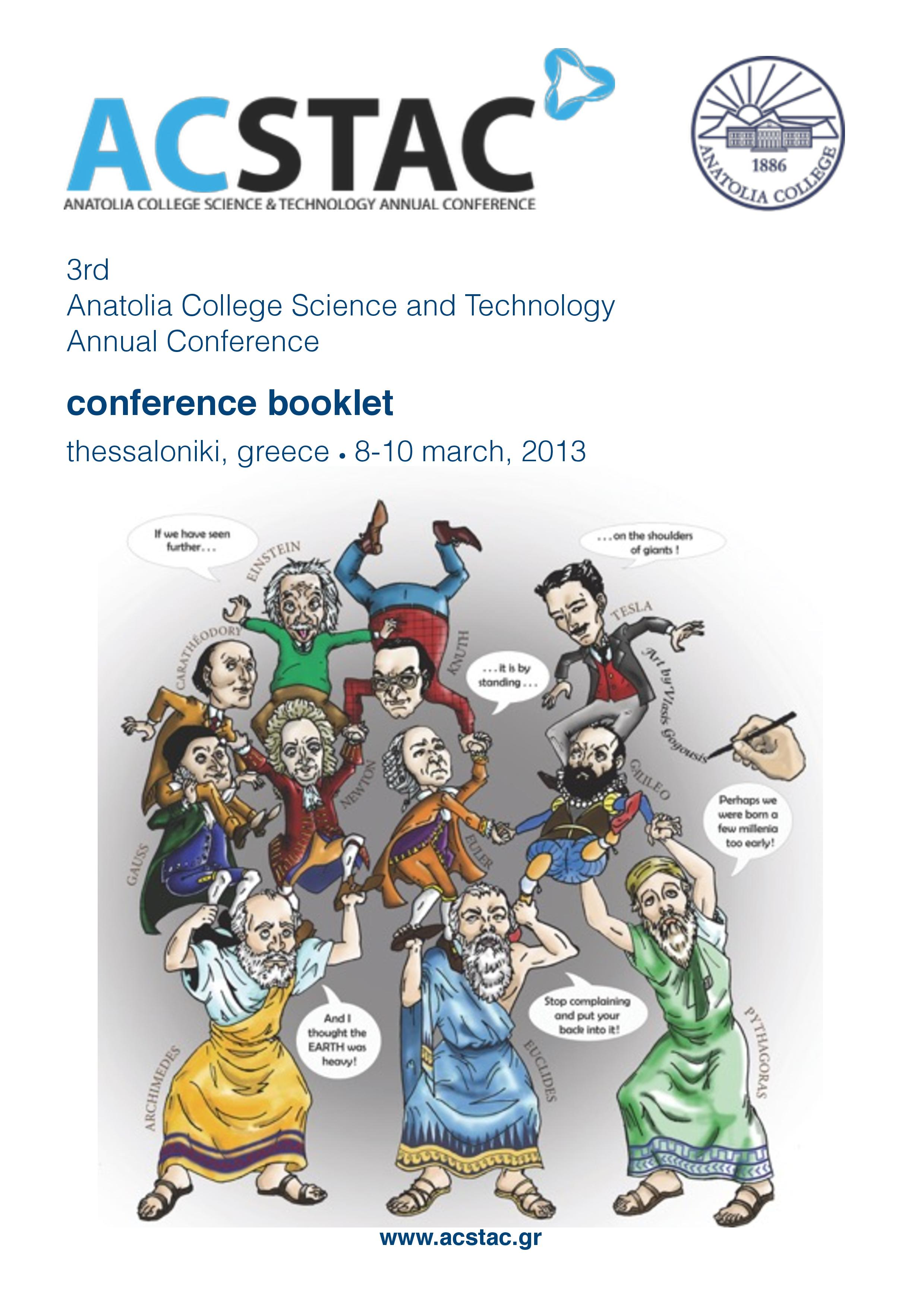 ACSTAC conference booklet 2013 pdf page 001 1